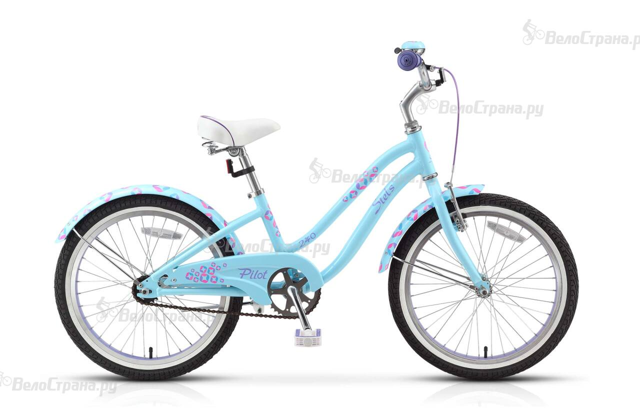 Велосипед Stels Pilot 240 Girl 1sp (2017) велосипед stels navigator 150 1sp 2016