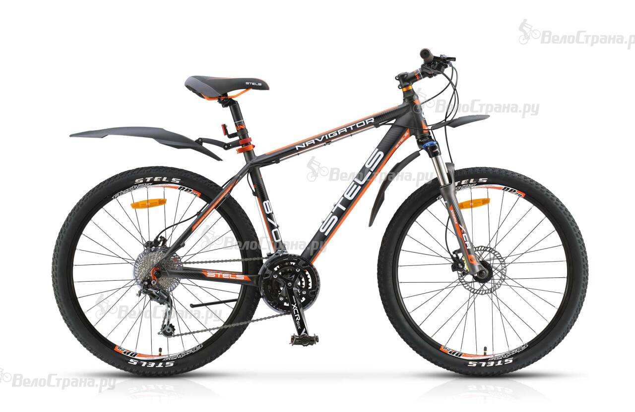 Велосипед Stels Navigator 870 D (2017) велосипед stels navigator 890 d carbon 2016