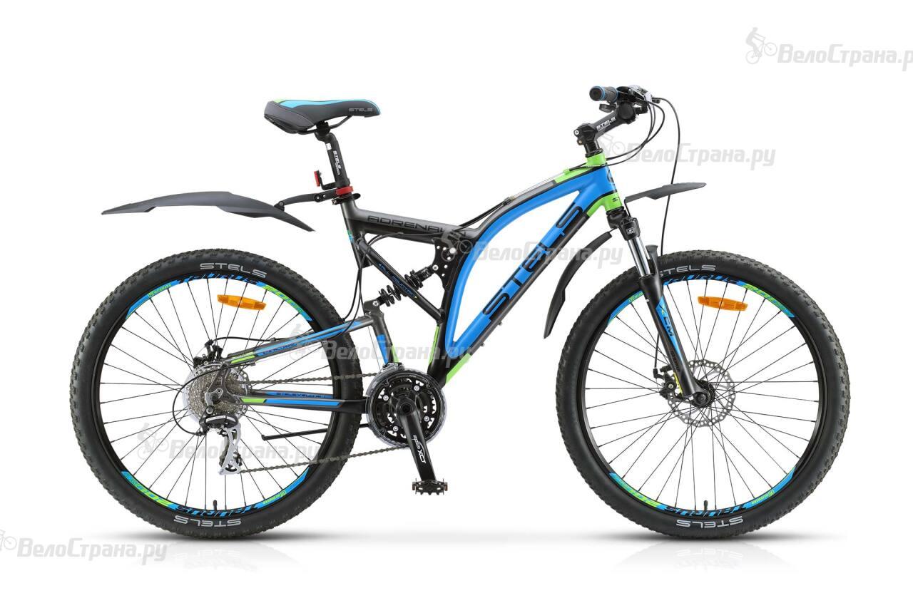Велосипед Stels Adrenalin MD (2017) велосипед stels navigator 380 2016