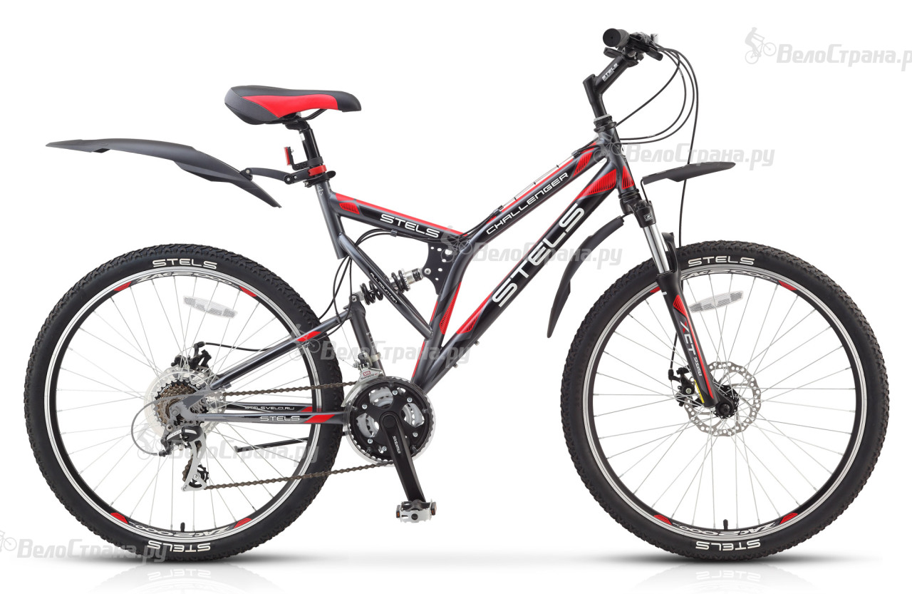 Велосипед Stels Challenger MD (2017) challenger велосипед challenger mission lux fs 26 2017 черно синий 18