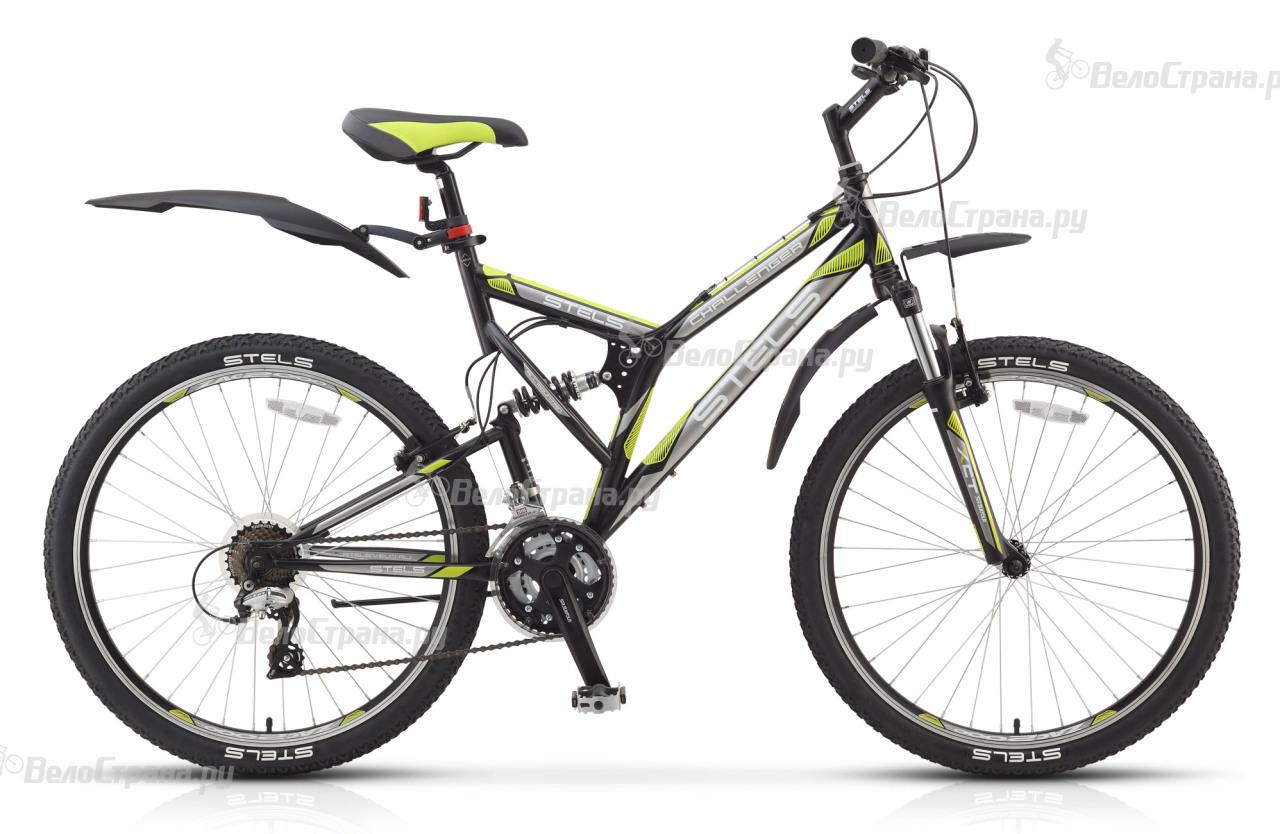 Велосипед Stels Challenger V (2017) велосипед challenger agent 26 черно серый 16