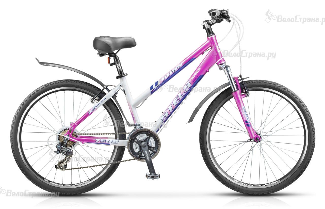 Велосипед Stels Miss 7500 V (2017) велосипед stels miss 9300 v 2016