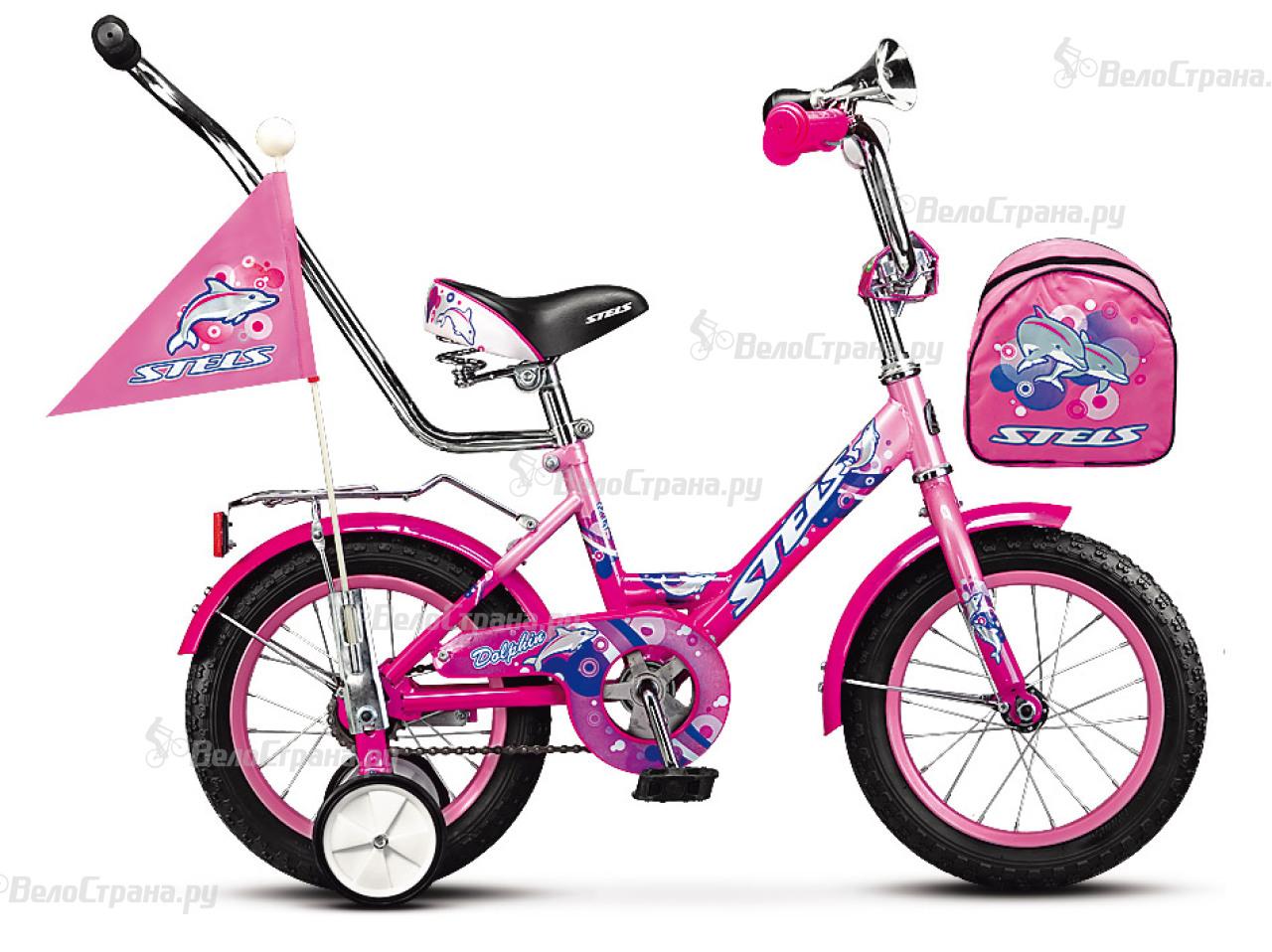 Велосипед Stels Dolphin 12 (2017) велосипед stels navigator 310 2016