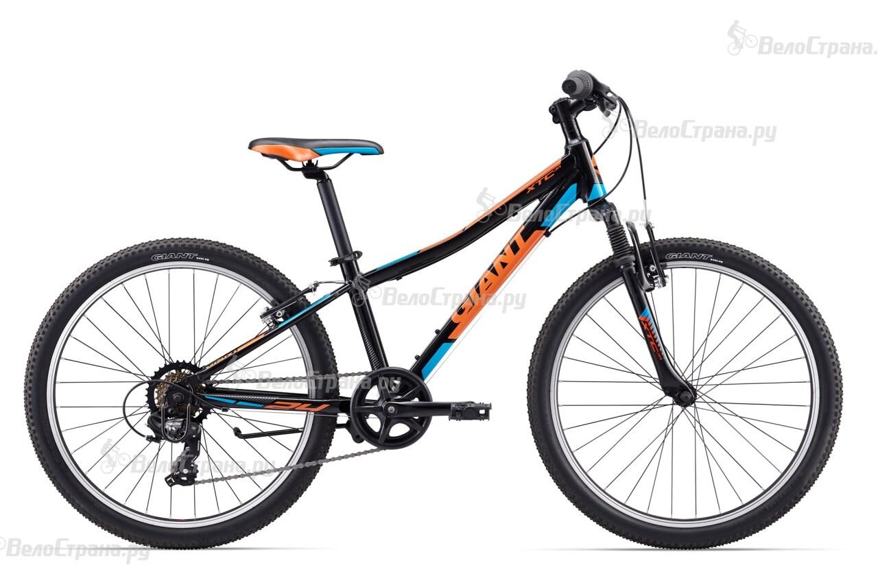 Велосипед Giant XTC JR 2 24 (2017) велосипед детский giant xtc jr 2 2015 цвет черный колесо 24