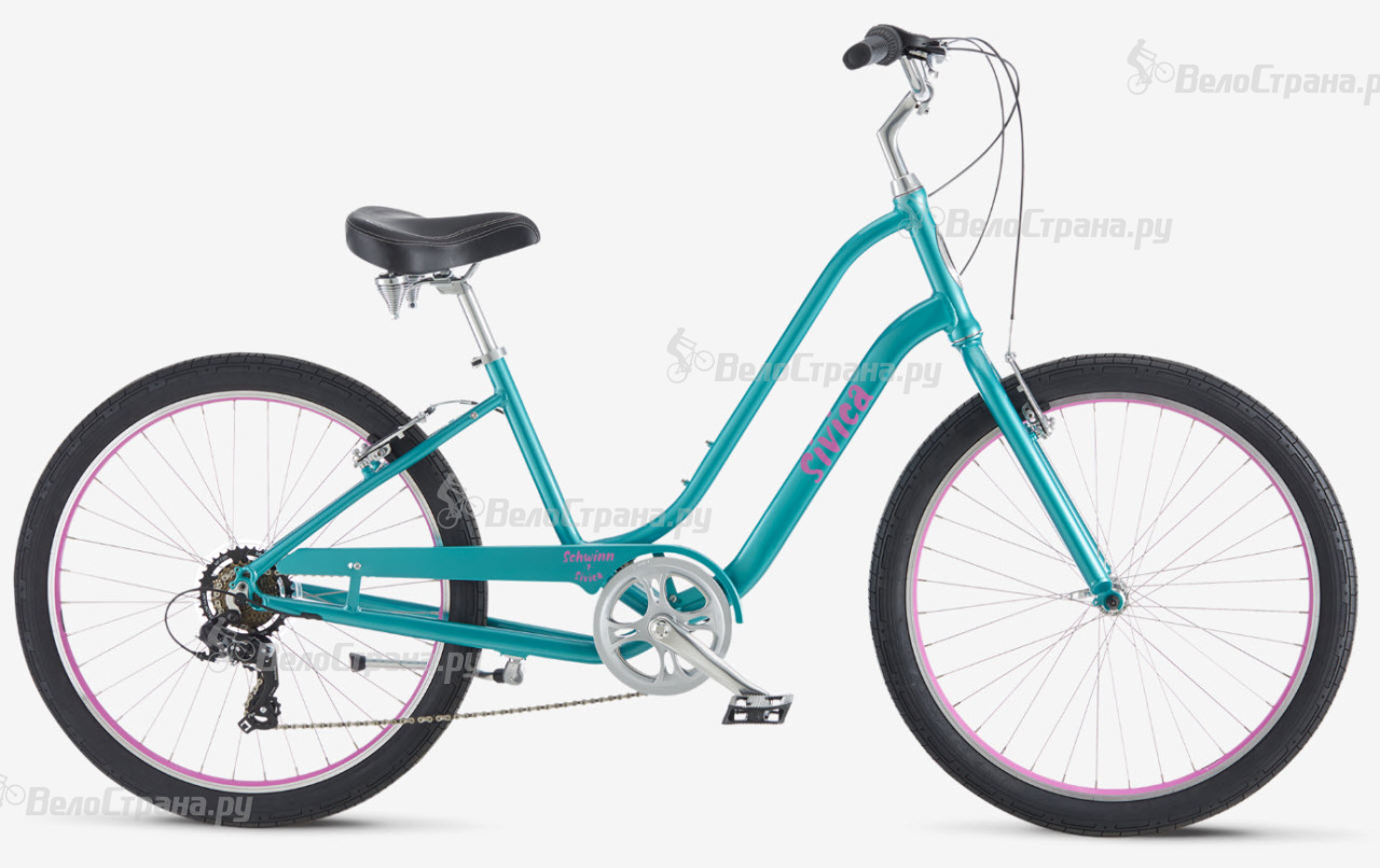 Велосипед Schwinn Sivica 7 Step-Thru (2017) велосипед schwinn streamliner 2 step thru 2015