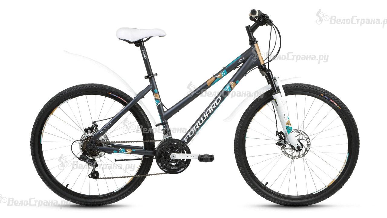 Велосипед Forward Iris 26 2.0 disc (2017) велосипед forward iris 26 1 0 2017