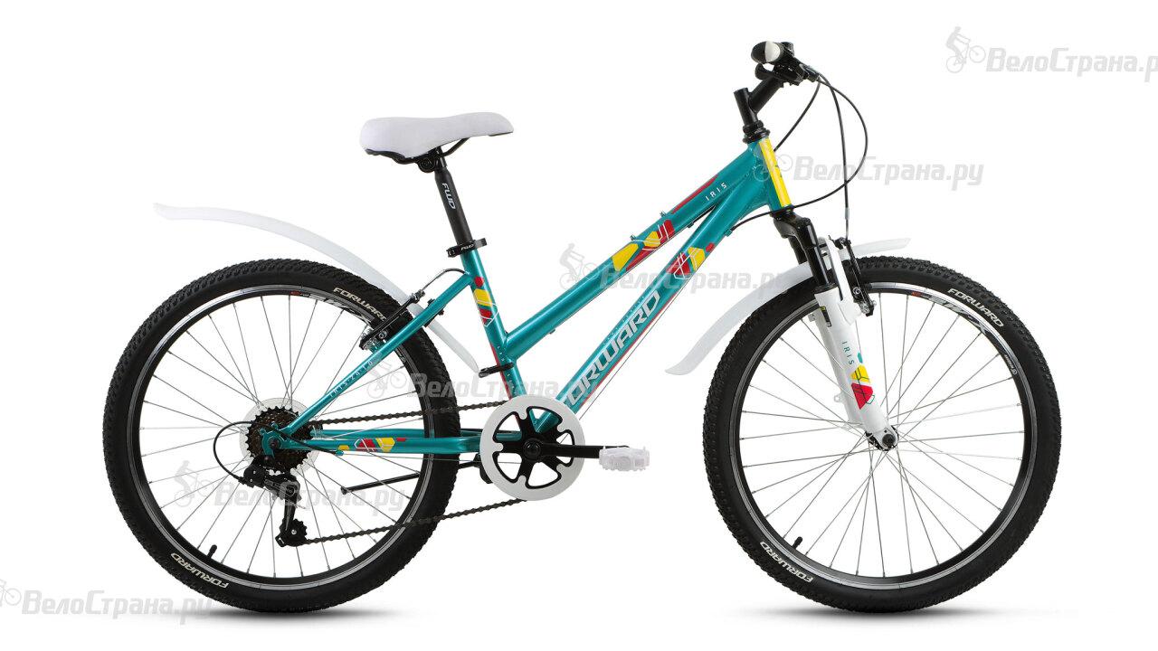 Велосипед Forward Iris 24 1.0 (2017) велосипед forward valencia 1 0 24 2016