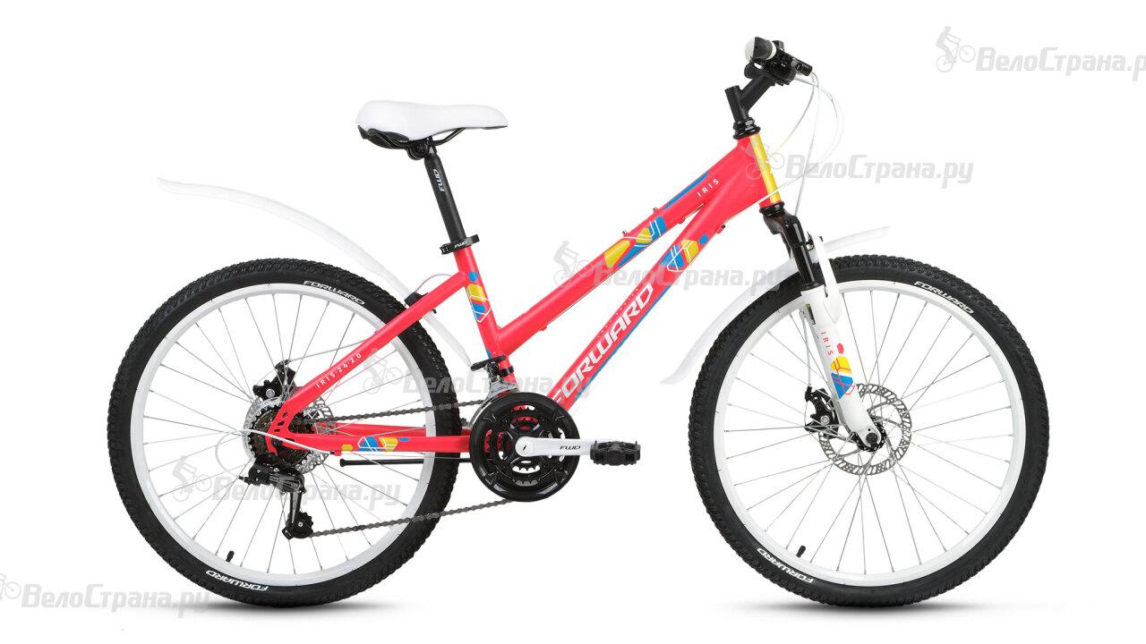 Велосипед Forward Iris 24 2.0 disc (2017) велосипед forward iris 26 1 0 2017