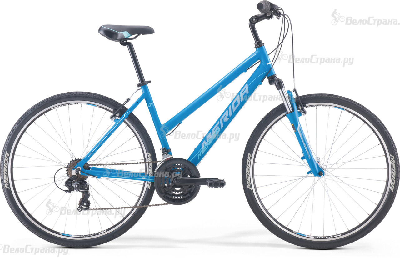 Велосипед Merida Crossway 5-V Lady (2017) велосипед merida crossway 5 v 2016 колеса 28 рама 18 голубой голубой белый