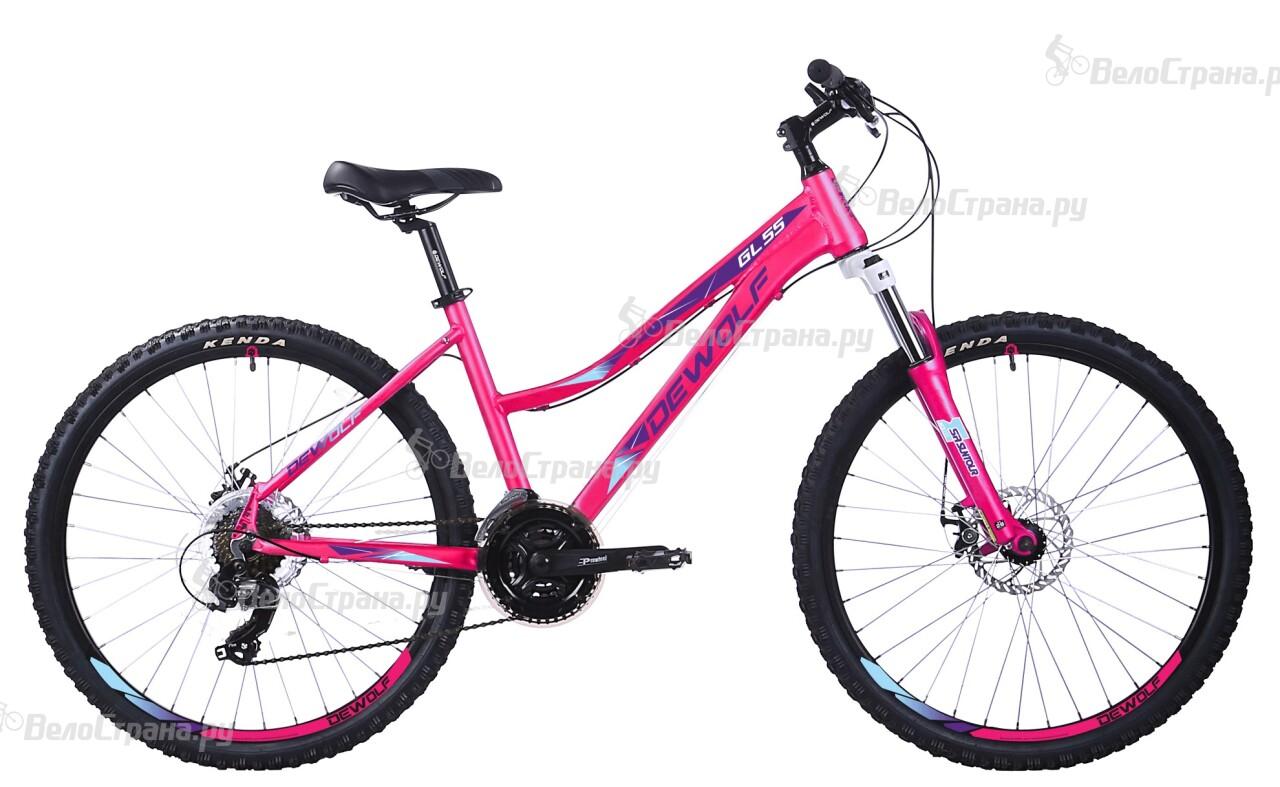 Велосипед Dewolf GL 55 (2017) выключатель двухклавишный с подсветкой werkel wl03 sw 2g led ivory