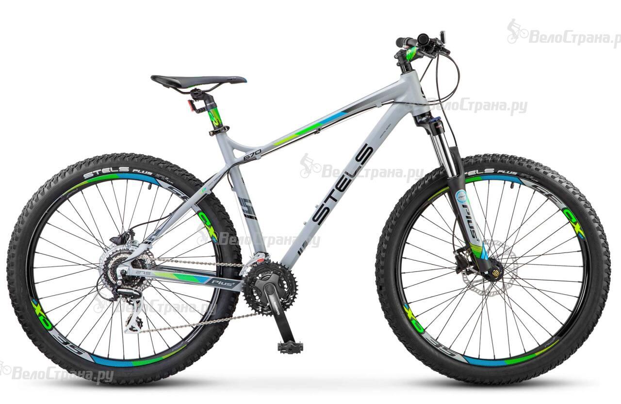 Велосипед Stels Navigator 670 D 27,5+ (2017) велосипед stels navigator 890 d carbon 2016