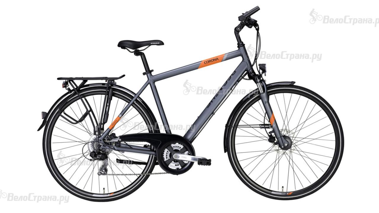 Велосипед Pegasus Corona Disc Gent 21 (2017) велосипед pegasus solero sl gent 7 2016