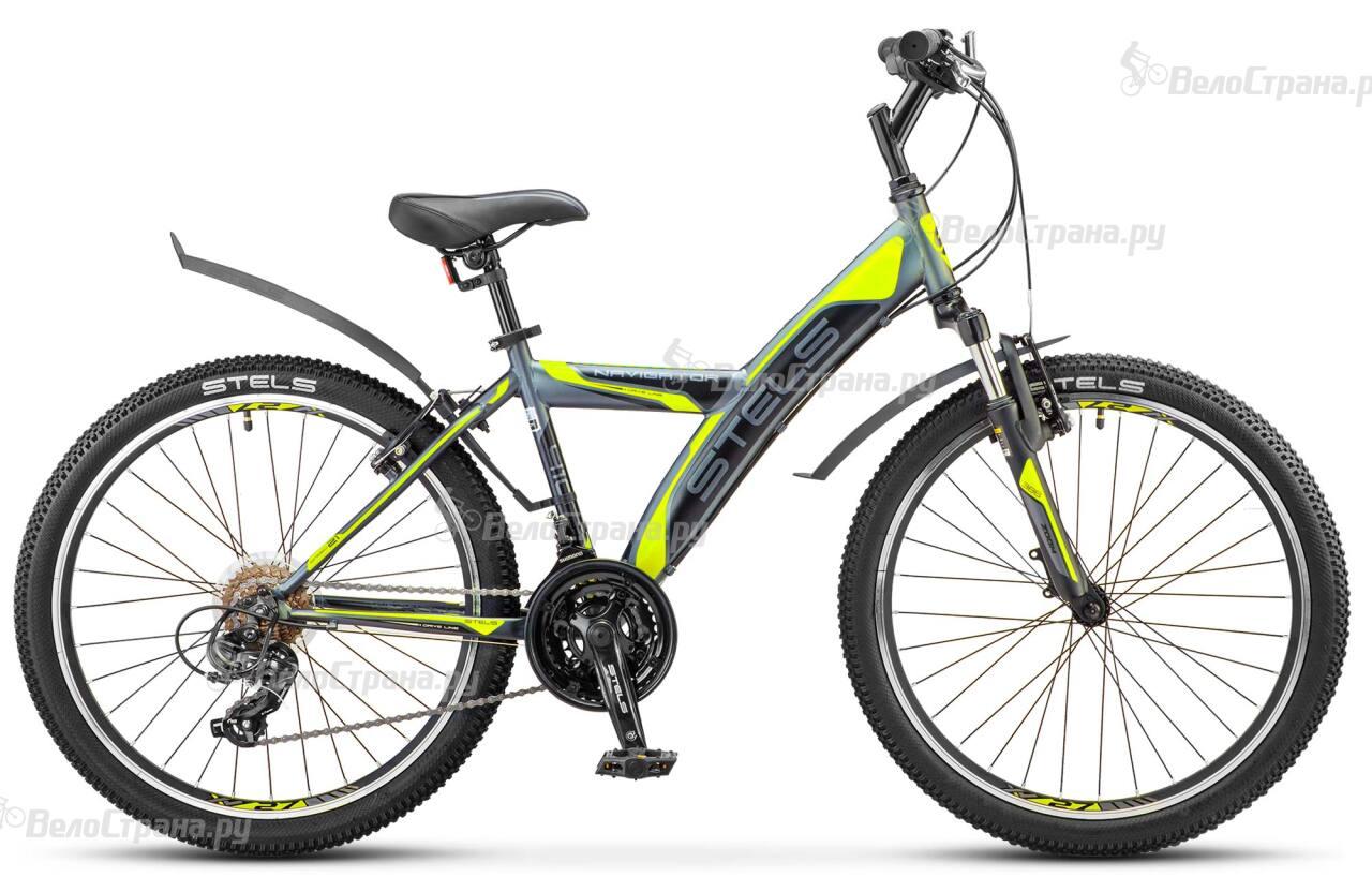 Велосипед Stels Navigator 410 V-21 sp (2017) велосипед stels navigator 410 v 21 sp 2017
