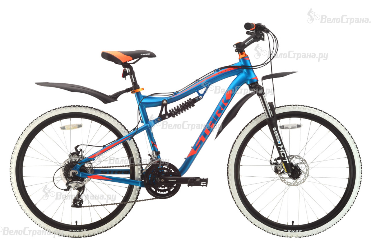 Велосипед Stark Voxter 26.4 FS D (2018) велосипед challenger desperado fs 26 d сине оранжевый 18