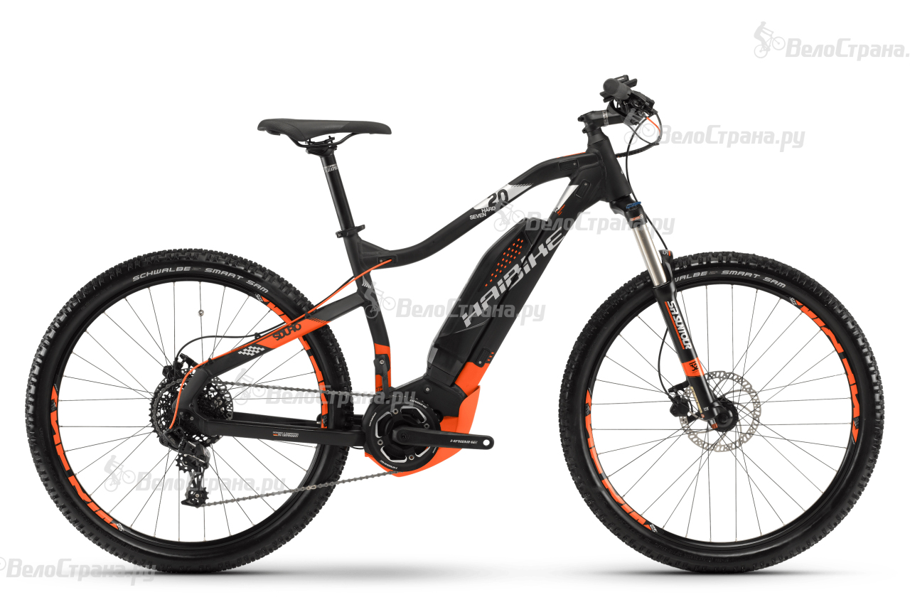 Велосипед Haibike SDURO HardSeven 2.0 400Wh (2018) la quinta inn
