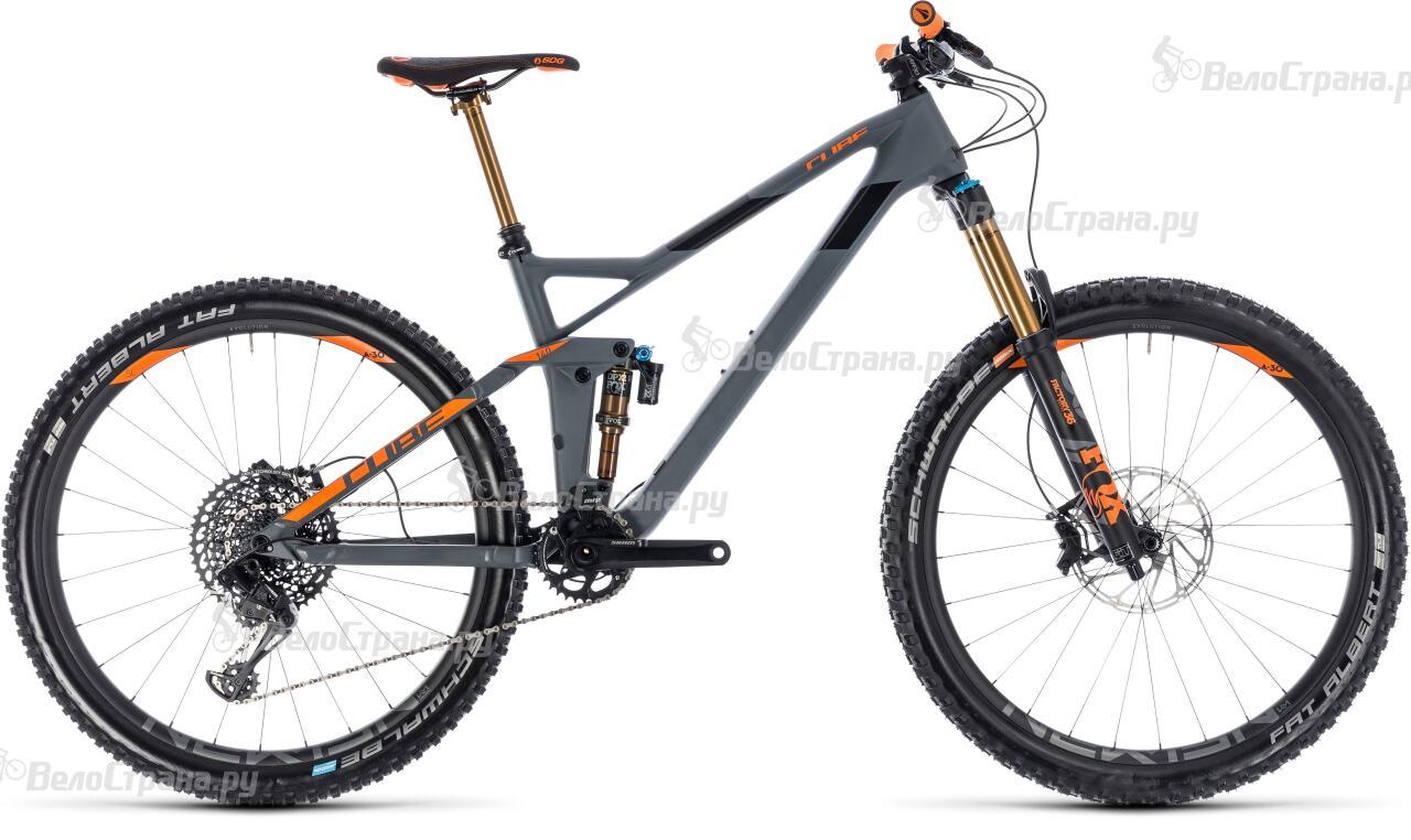 Велосипед Cube Stereo 140 HPC TM 27.5 (2018) велосипед cube stereo 140 super hpc tm 27 5 2015