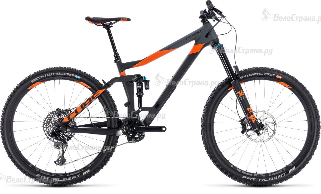 Велосипед Cube Stereo 160 C:62 TM 27.5 (2018)