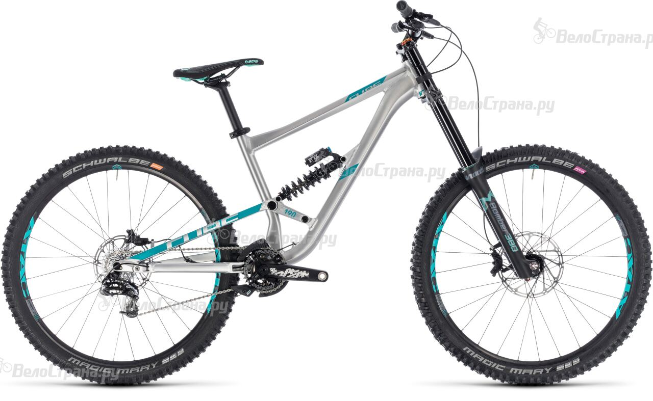 Велосипед Cube Hanzz 190 SL 27.5 (2018) 10pcs 190 380