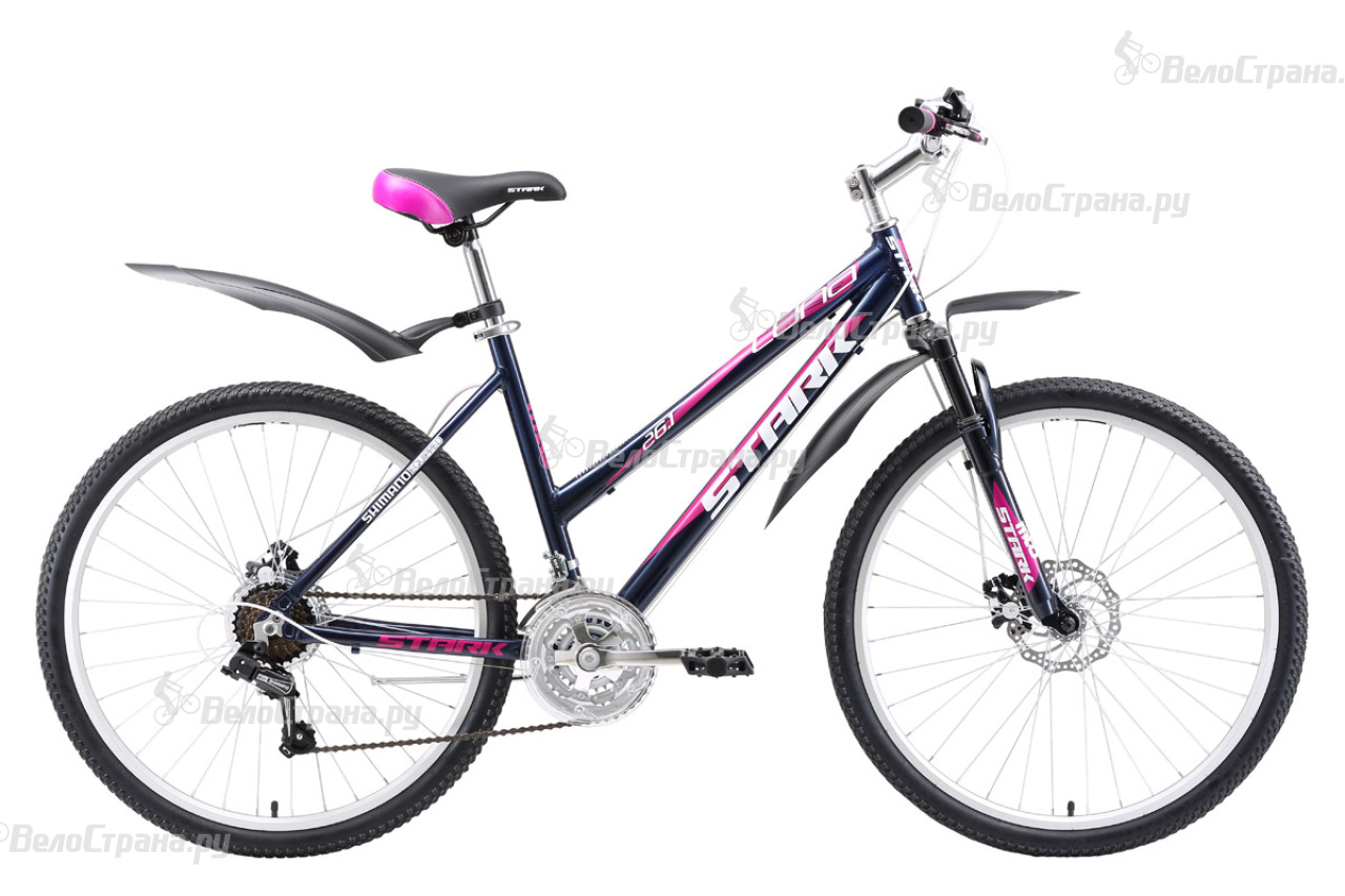 Велосипед Stark Luna 26.1 D (2018) велосипед stark outpost 26 1 d 2018