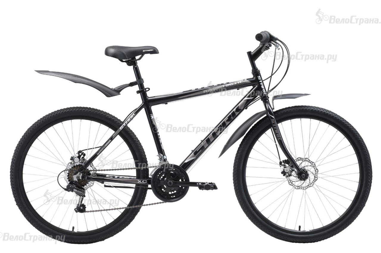 Велосипед Stark Respect 26.1 RD (2018) велосипед stark outpost 26 1 d 2018