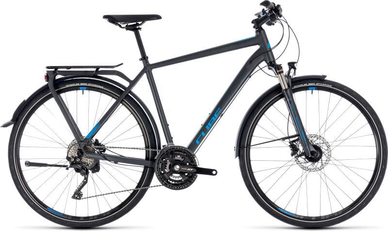 Купить Комфортный велосипед Cube Kathmandu Exc (2018)
