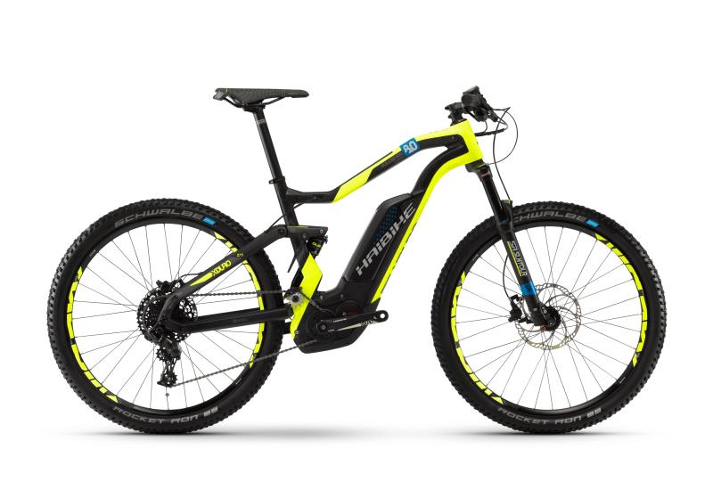 Электровелосипед Haibike XDURO FullSeven Carbon 8.0 500Wh (2018)  - купить со скидкой
