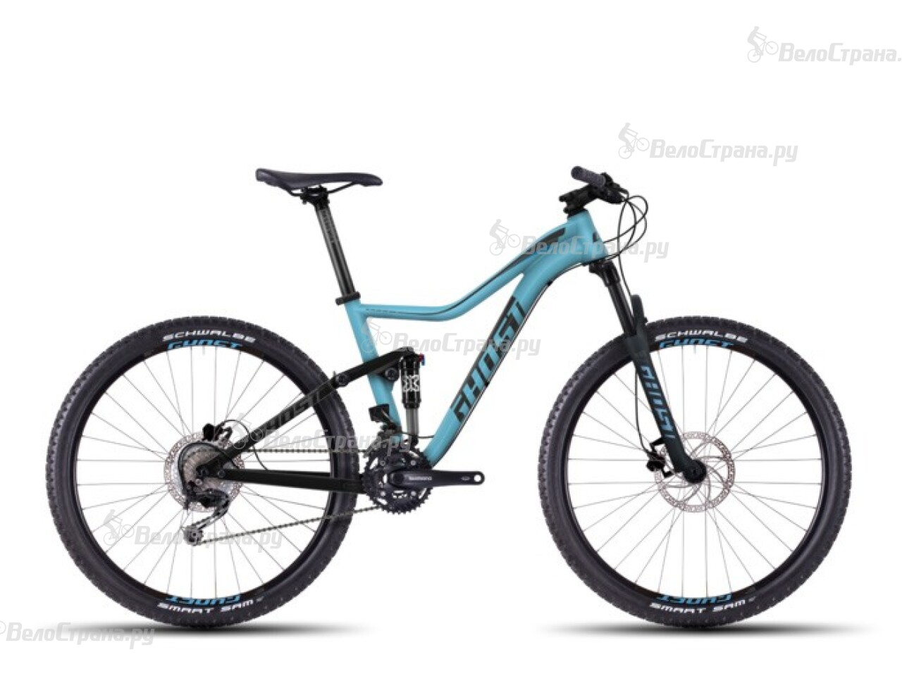 Велосипед Ghost Lanao FS 2 (2016)