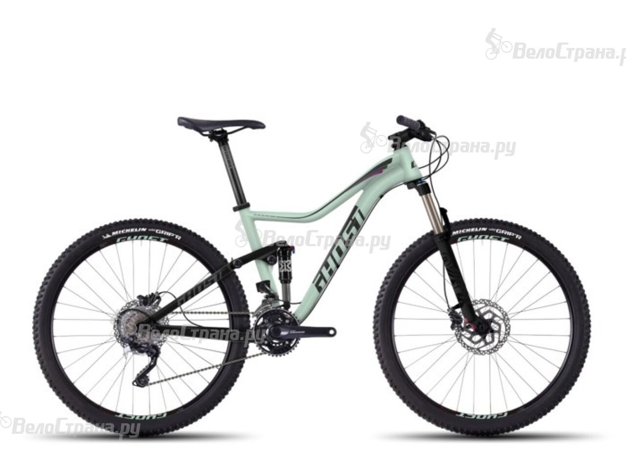 Велосипед Ghost Lanao FS 4 (2016) велосипед challenger mission lux fs 26 черно красный 16