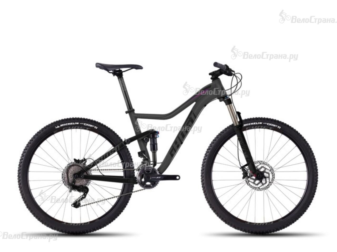 Велосипед Ghost Lanao FS 7 (2016) велосипед challenger mission lux fs 26 черно красный 16