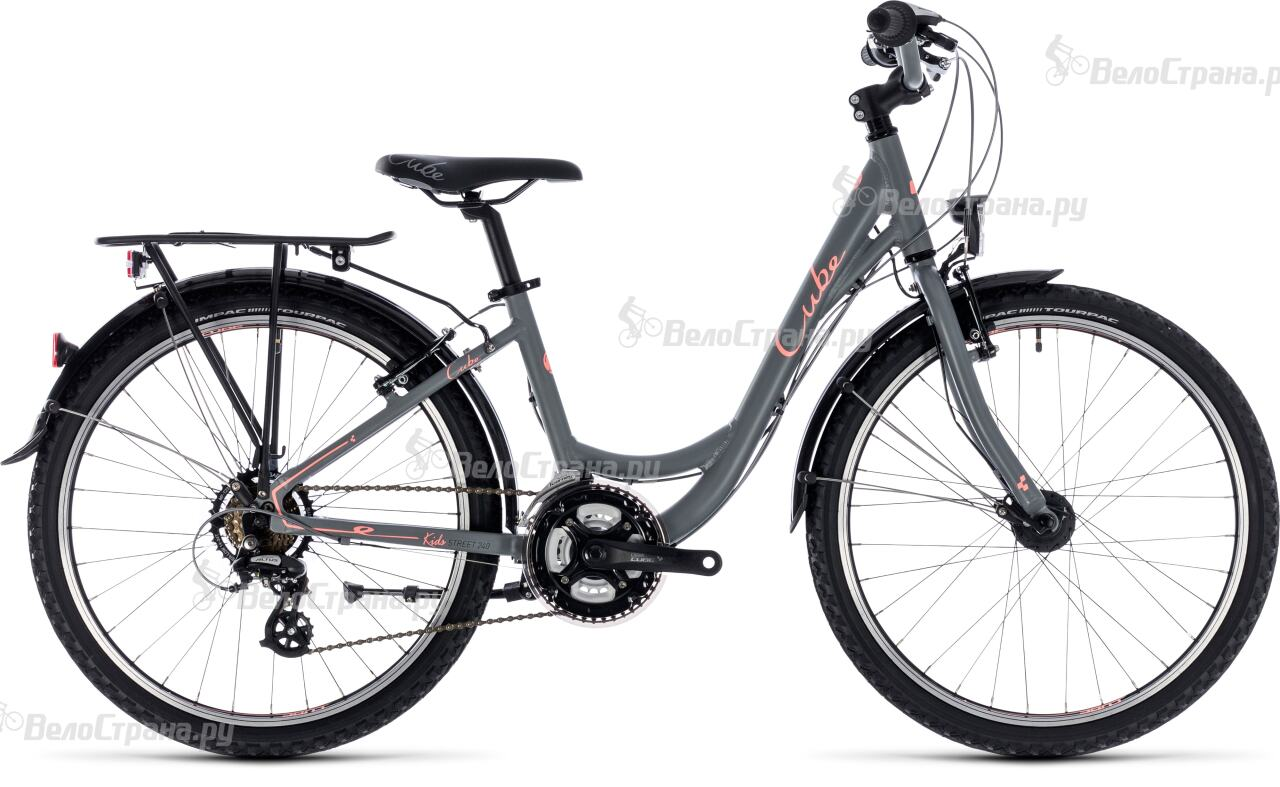 Велосипед Cube Kid 240 Street girl (2018) велосипед cube kid 240 die mannschaft dfb edition 2017