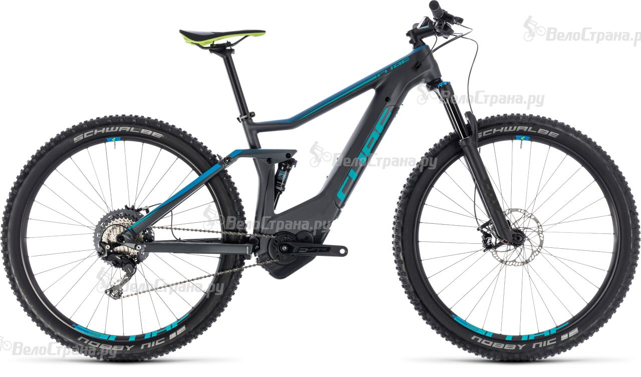 Велосипед Cube Stereo Hybrid 120 HPC Race 500 27.5 (2018) велосипед cube stereo 120 hpc race 29 2015