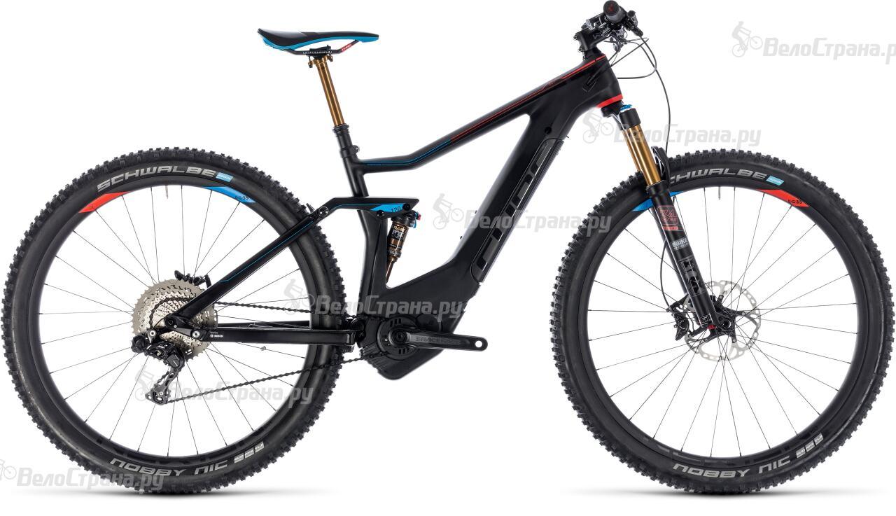 Велосипед Cube Stereo Hybrid 120 HPC SLT 500 27.5 (2018)
