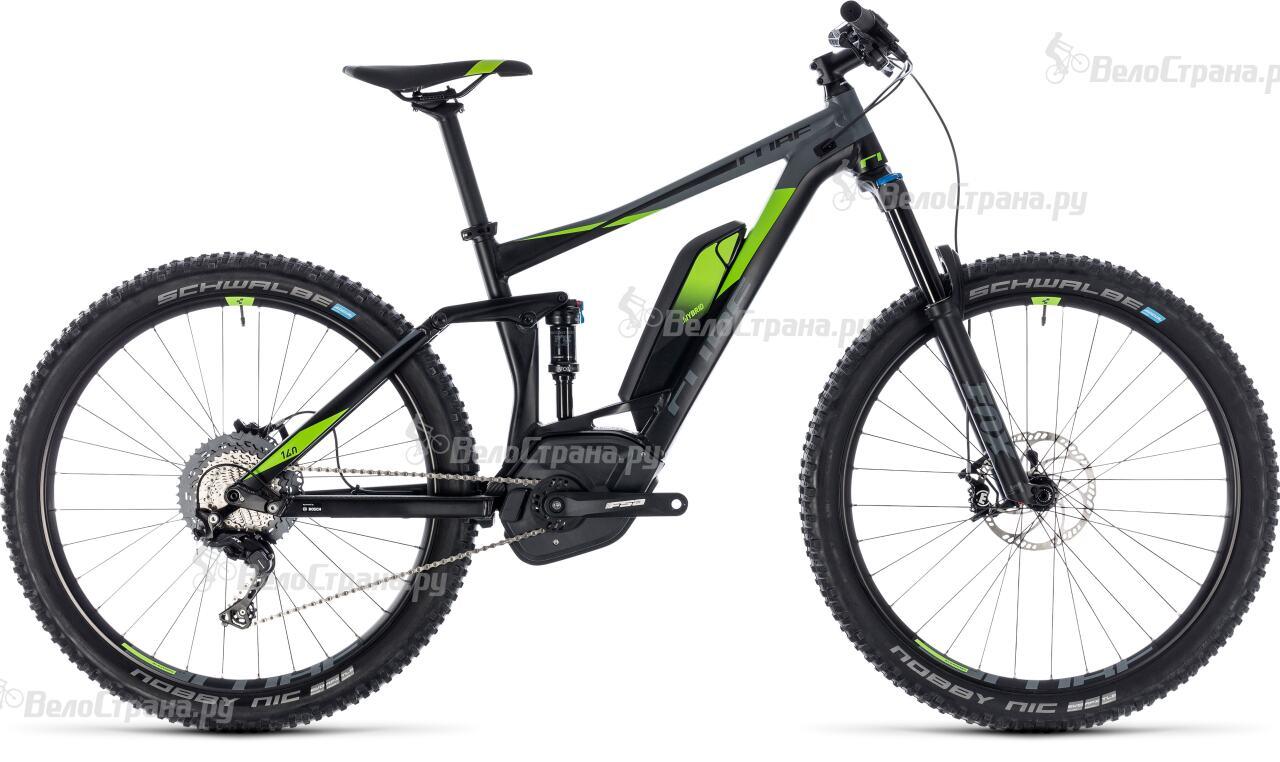 Велосипед Cube Stereo Hybrid 140 Race 500 27.5 (2018) велосипед cube stereo 160 hpa race 27 5 2016