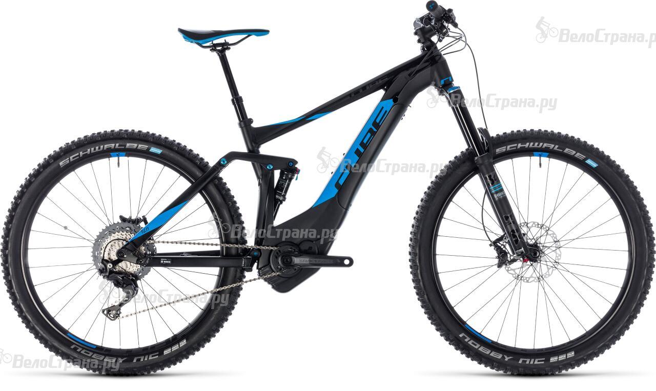 Велосипед Cube Stereo Hybrid 140 SL 500 27.5 (2018)