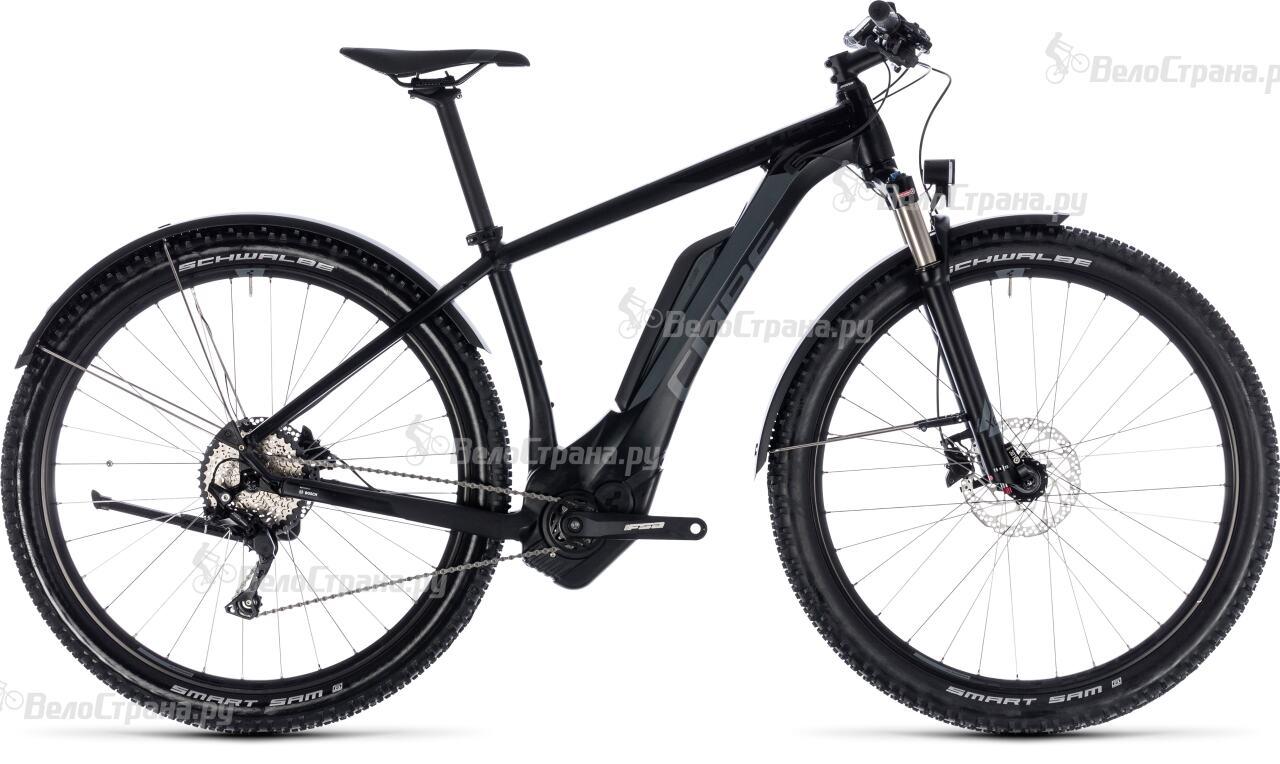 Велосипед Cube REACTION HYBRID Pro Allroad 500 29 (2018) велосипед cube cross hybrid pro allroad 500 2018