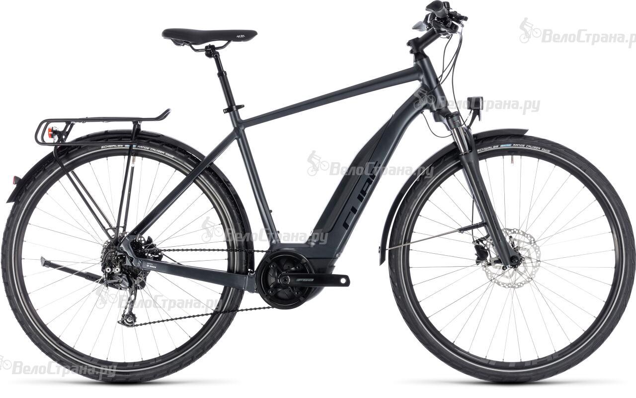 Велосипед Cube Touring Hybrid One 400 (2018) велосипед cube touring hybrid one 400 lady 2018