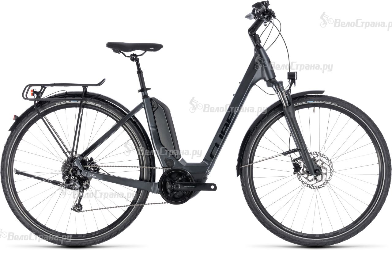 где купить Велосипед Cube Touring Hybrid One 400 Easy Entry (2018) по лучшей цене
