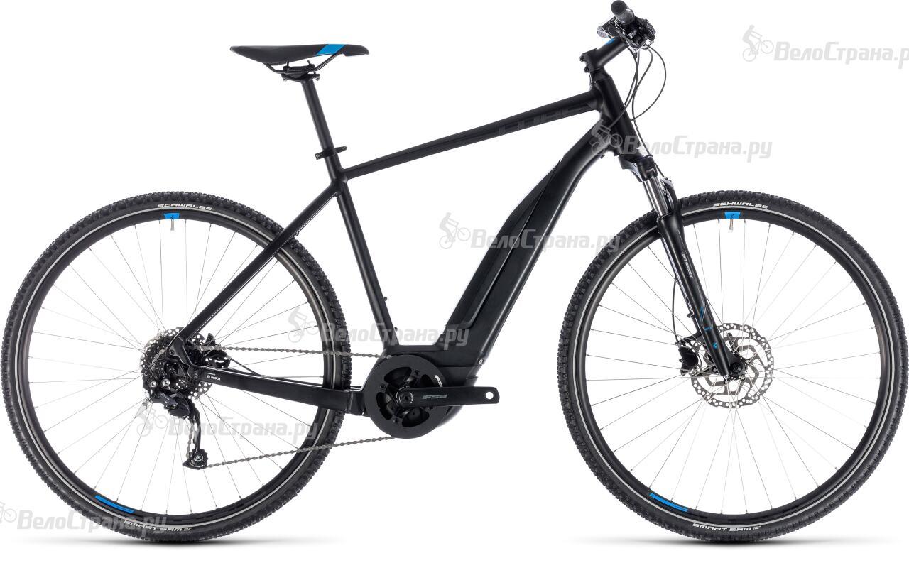 Велосипед Cube Cross Hybrid One 500 (2018)