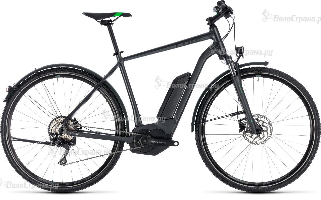 Велосипед Cube CROSS HYBRID Pro Allroad 400 (2018) велосипед cube cross hybrid pro allroad 500 2018
