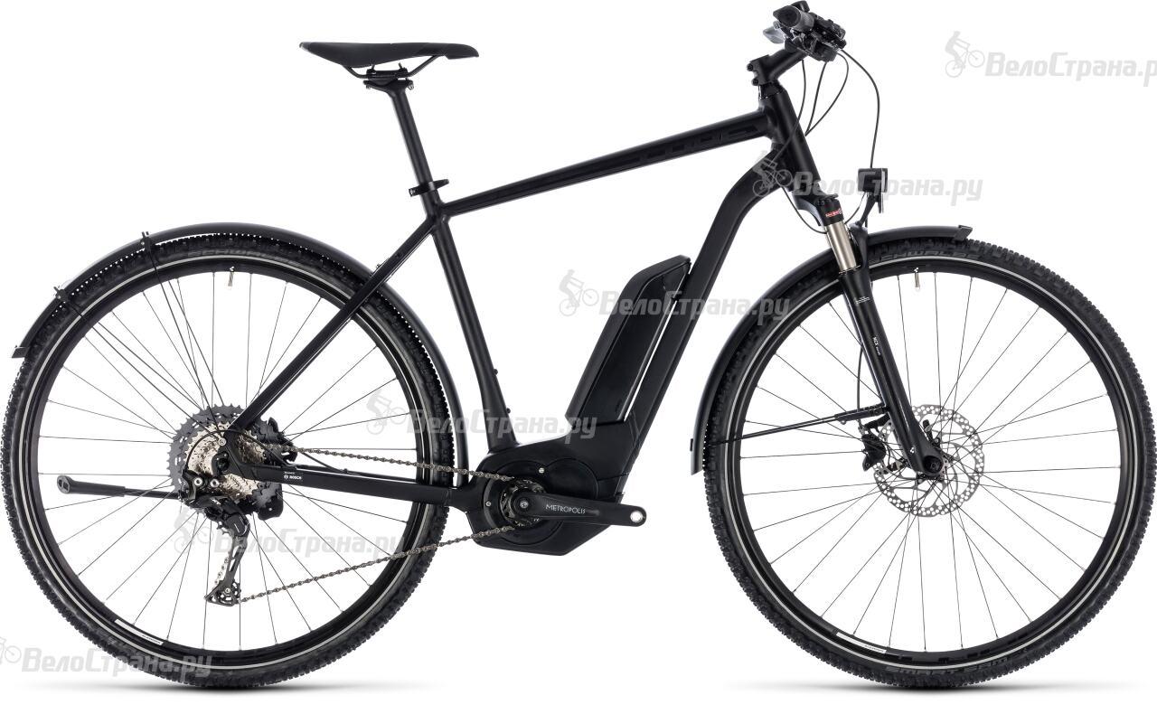 Велосипед Cube CROSS HYBRID Race Allroad 500 (2018) велосипед cube cross hybrid pro allroad 500 2018