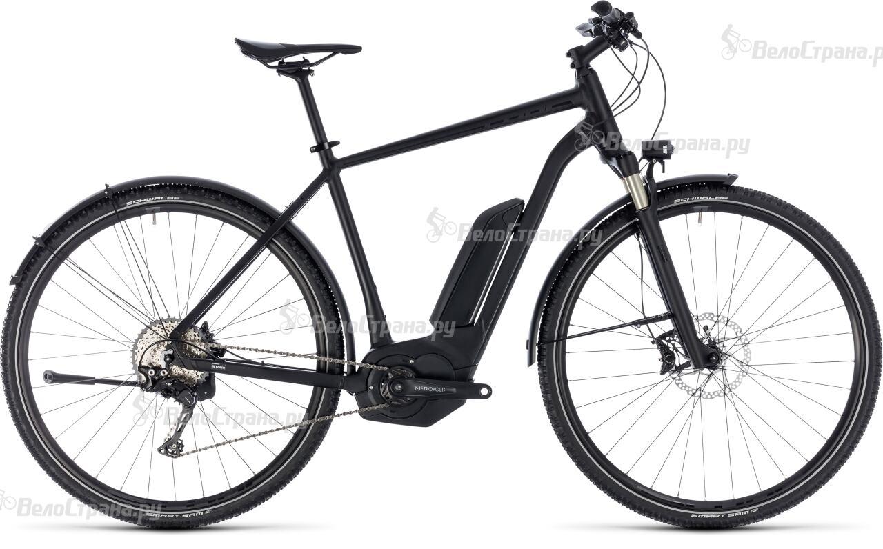 Велосипед Cube CROSS HYBRID SL Allroad 500 (2018)