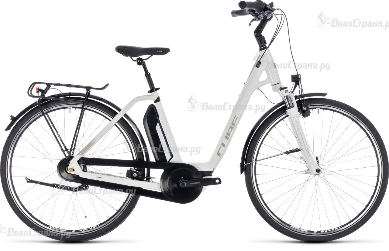 Велосипед Cube Town Hybrid One 400 Easy Entry (2018) велосипед cube town gtc hybrid 2014