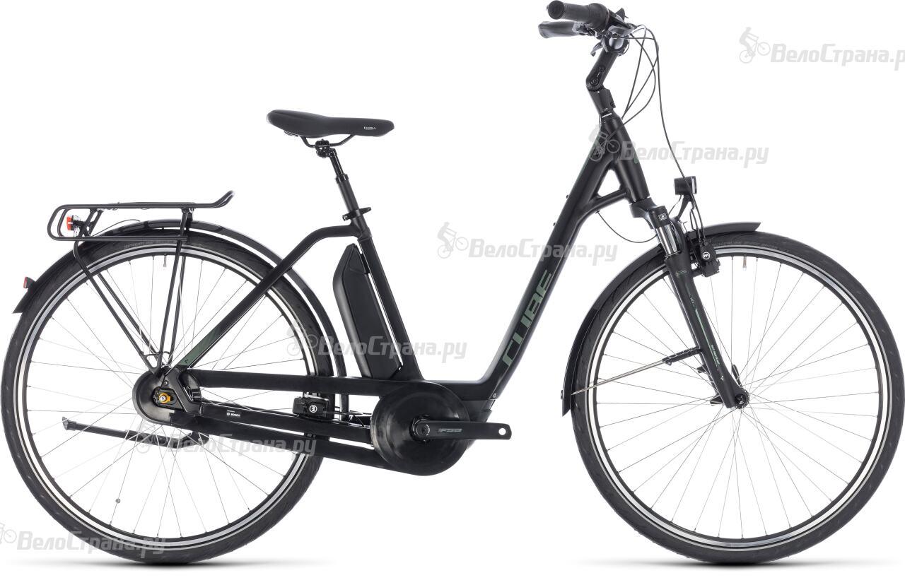 Велосипед Cube Town Hybrid One 500 Easy Entry (2018) велосипед cube town gtc hybrid 2014