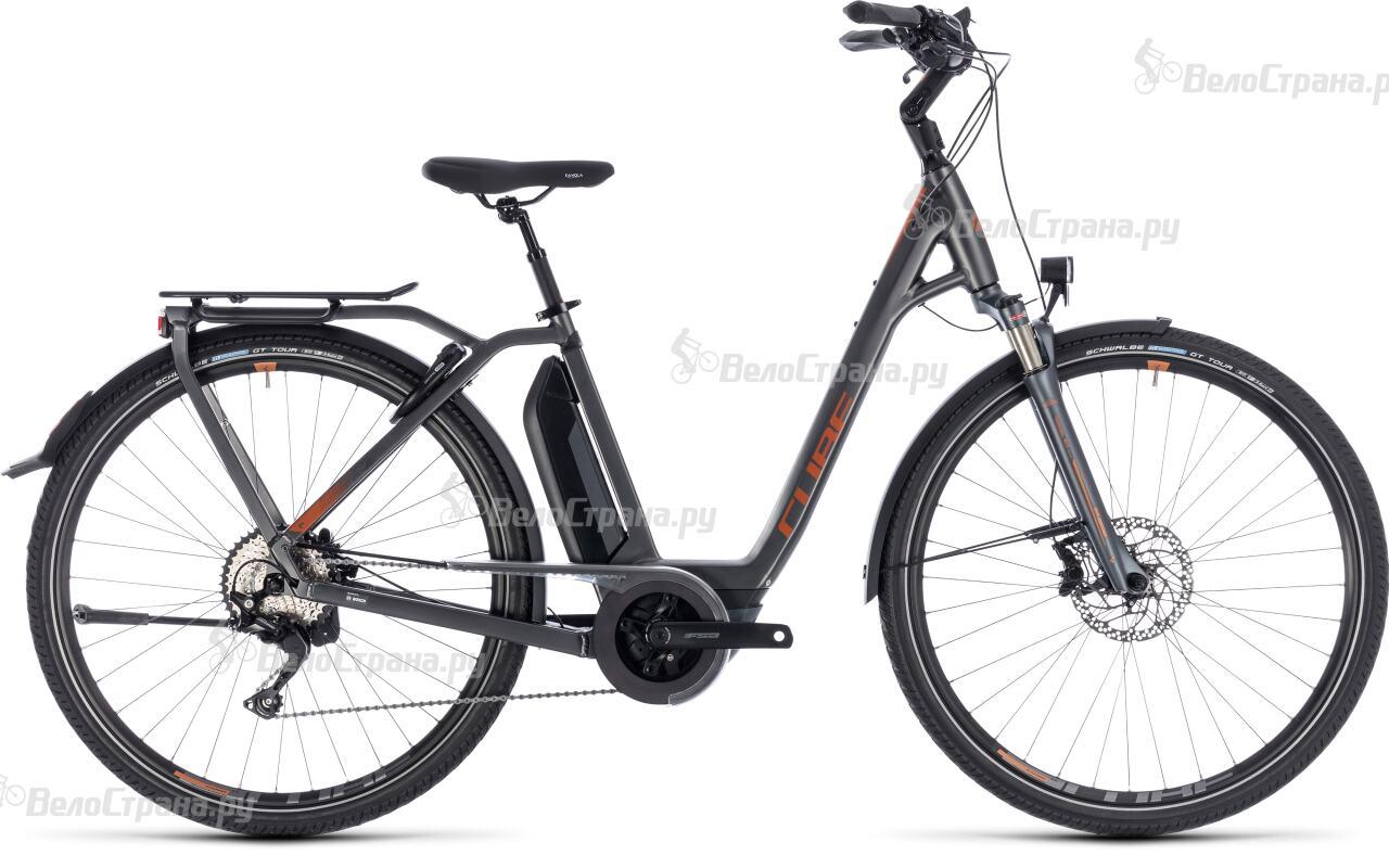 Велосипед Cube Town Hybrid Sport Pro 400 Easy Entry (2018) велосипед cube town gtc hybrid 2014