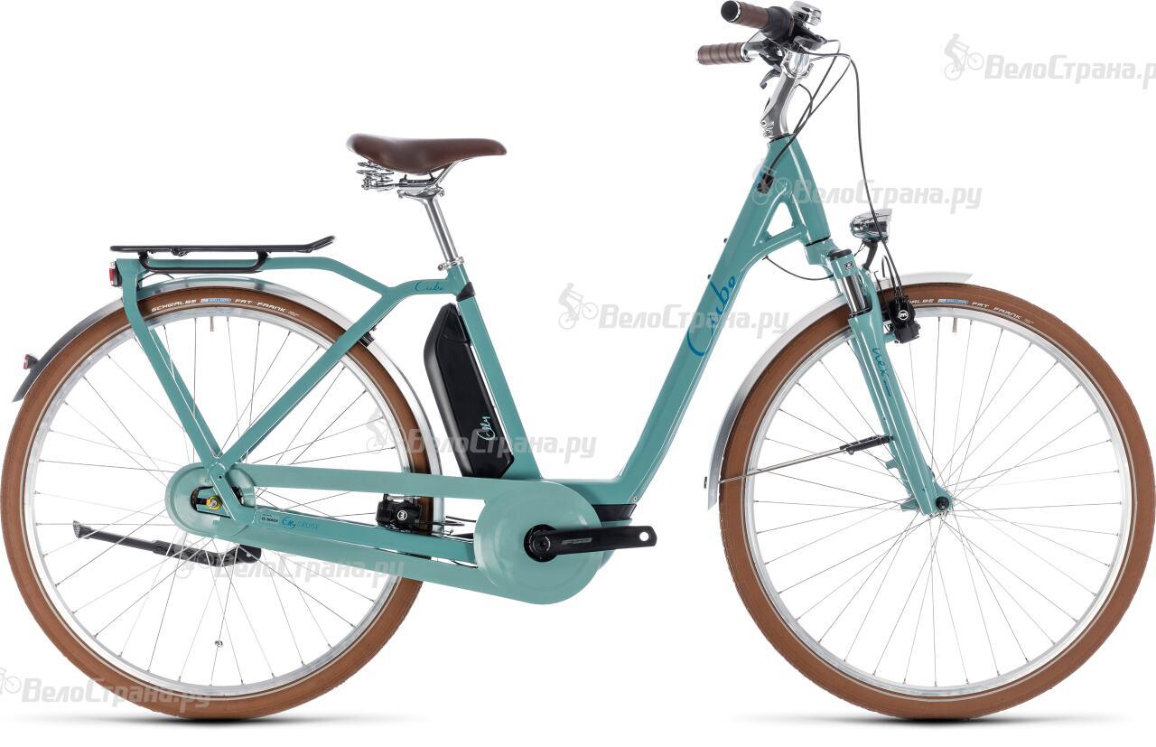 Велосипед Cube Elly Cruise Hybrid 400 (2018) велосипед cube elly ride hybrid 400 2018