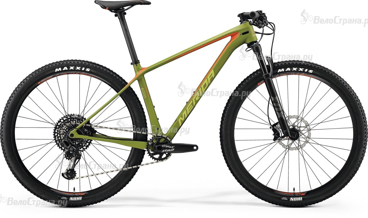 Велосипед Merida BIG.NINE 6000 (2018)