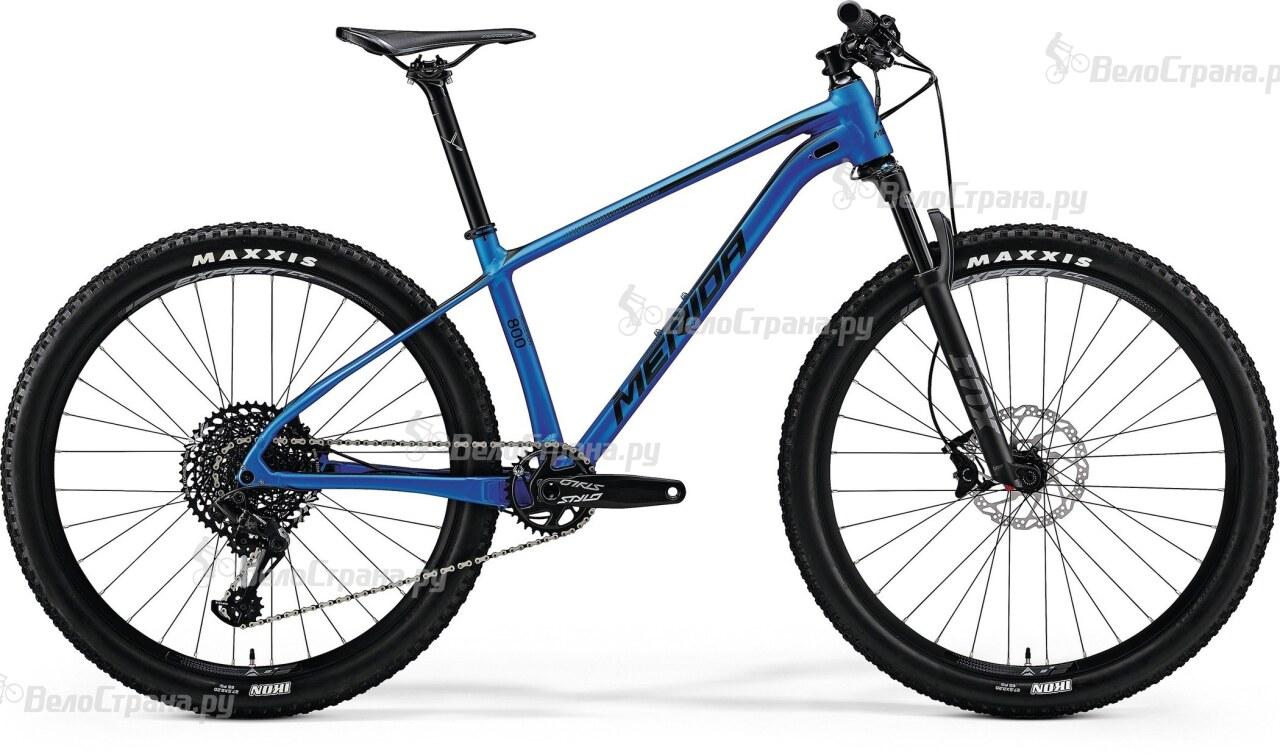 Велосипед Merida BIG.SEVEN 800 (2018) merida bigseven 800 27 5