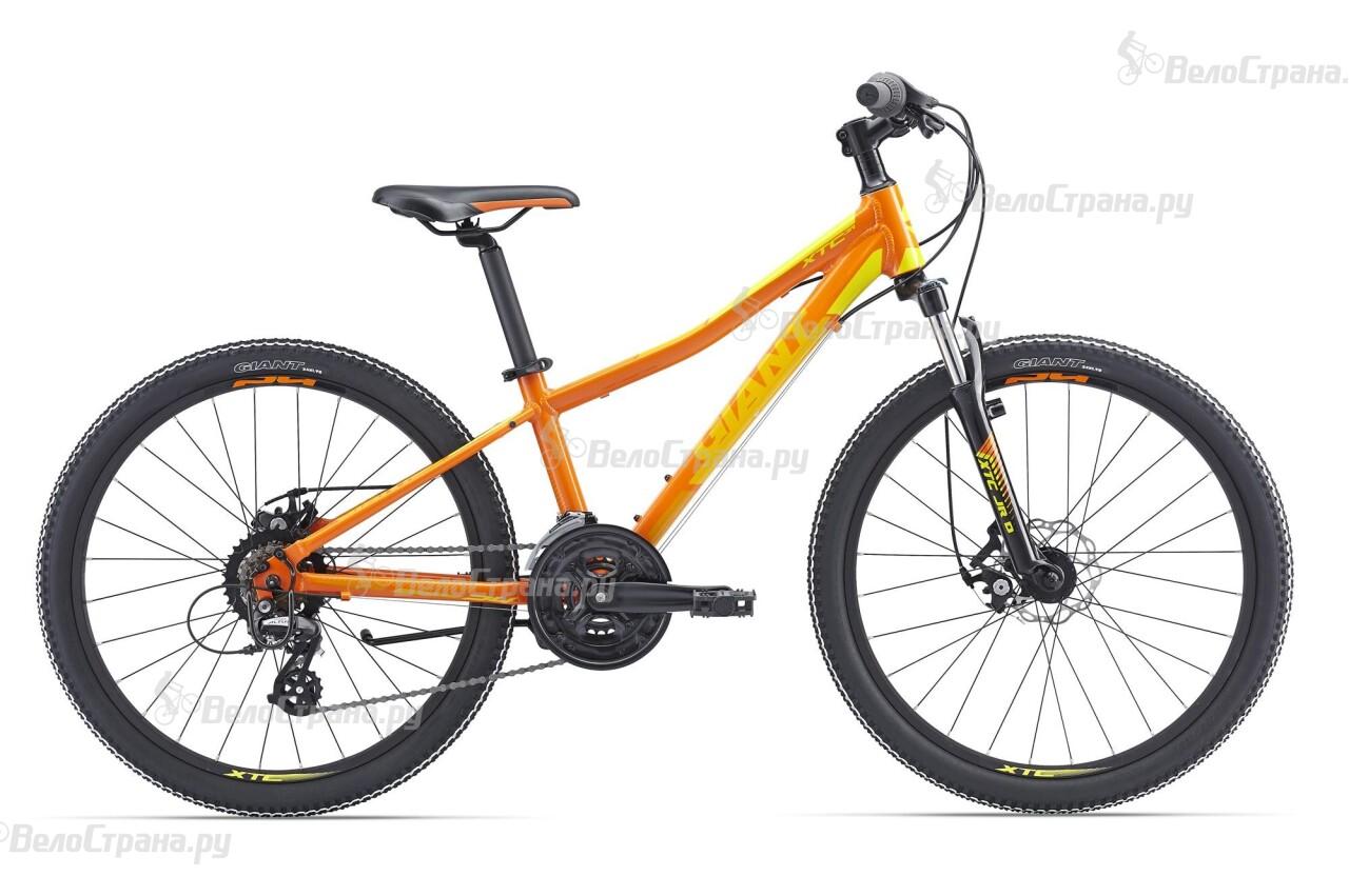 Велосипед Giant XtC Jr 1 Disc 24 (2016) велосипед детский giant xtc jr 2 2015 цвет черный колесо 24