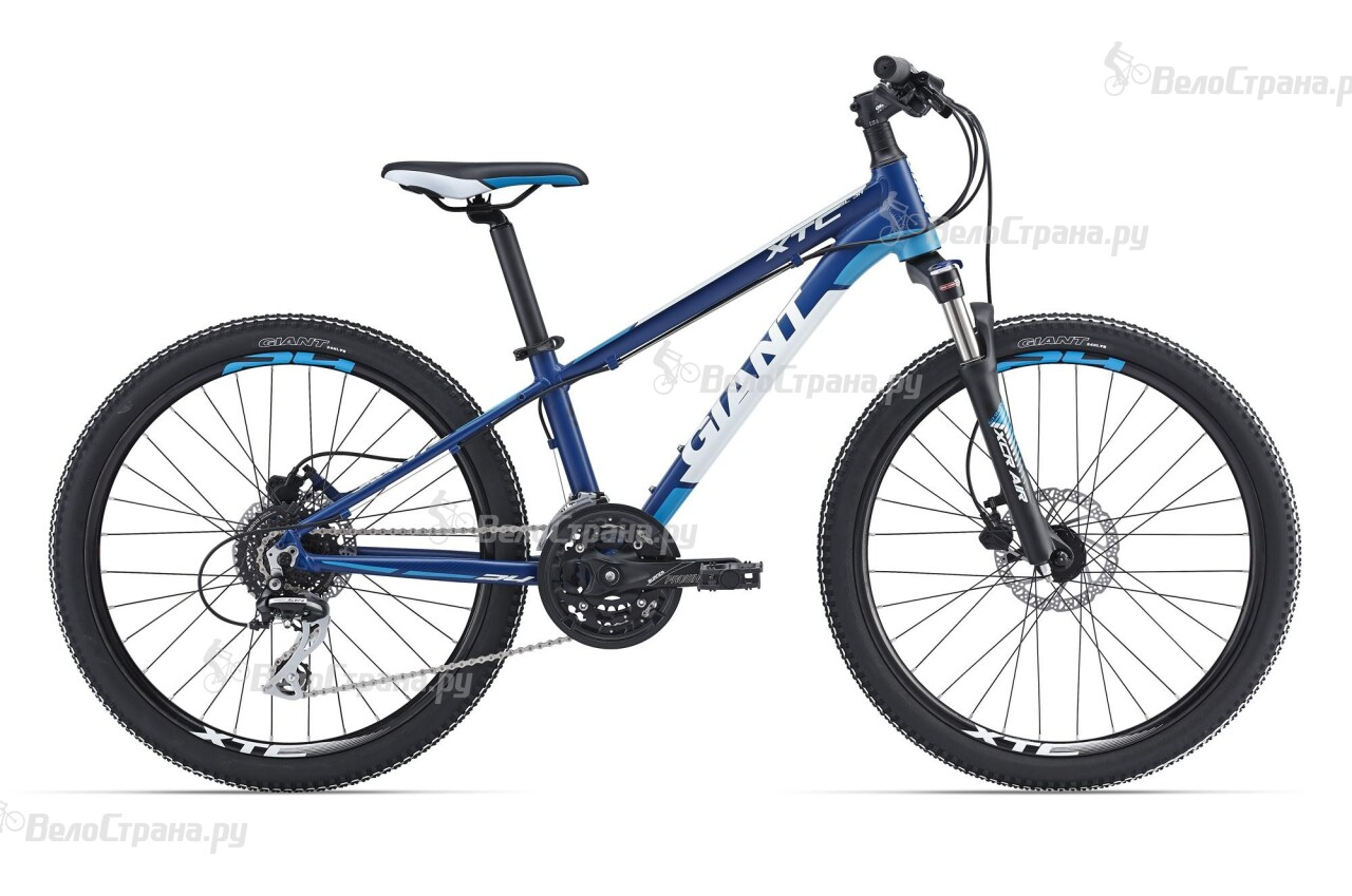 Велосипед Giant XtC SL Jr 24 (2016) велосипед giant xtc jr 24 lite 2016