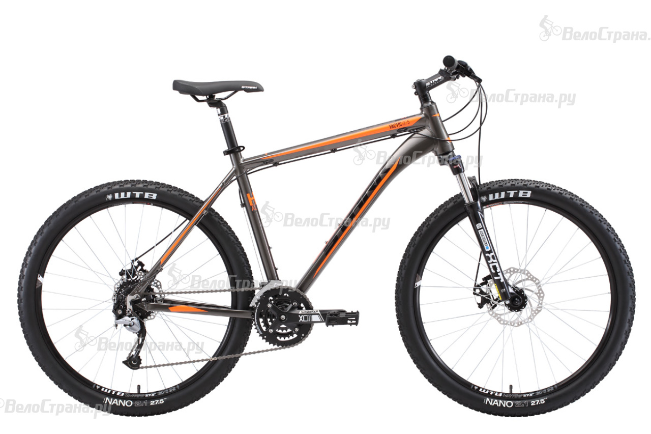 Велосипед Stark Tactic 27.5 D (2018) велосипед stark tactic disc 26